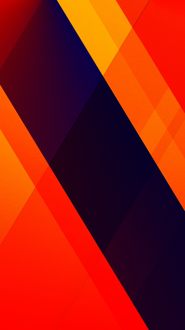 Abstract Pattern Digital Art Orange iPhone Wallpaper