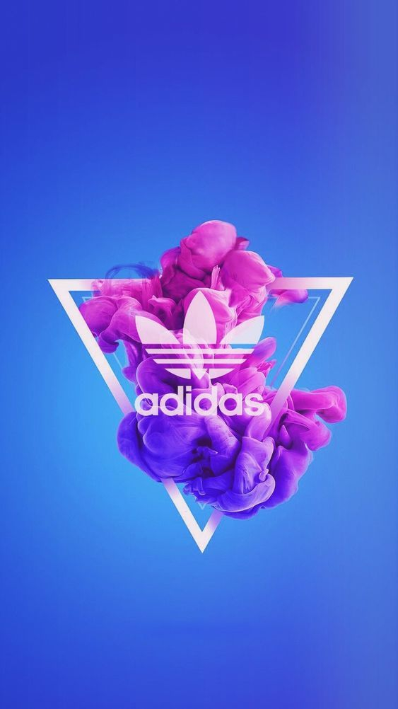 Adidas Art iPhone Wallpaper