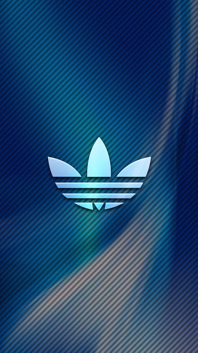 Adidas Logo Abstract iPhone Wallpaper