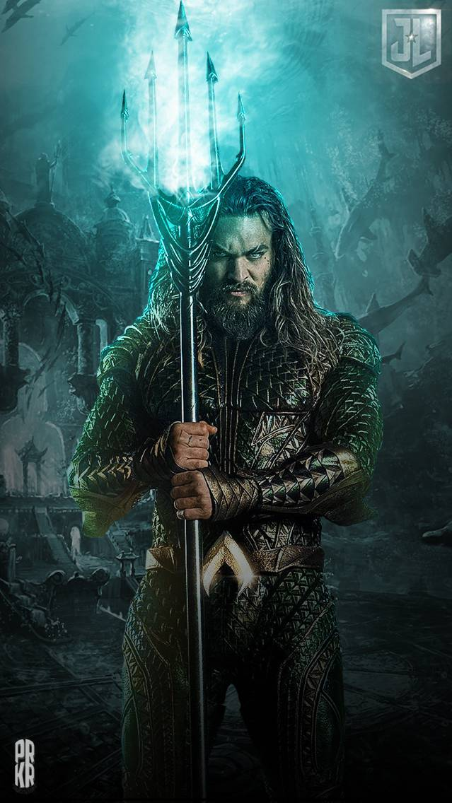 Aquaman HD iPhone Wallpaper