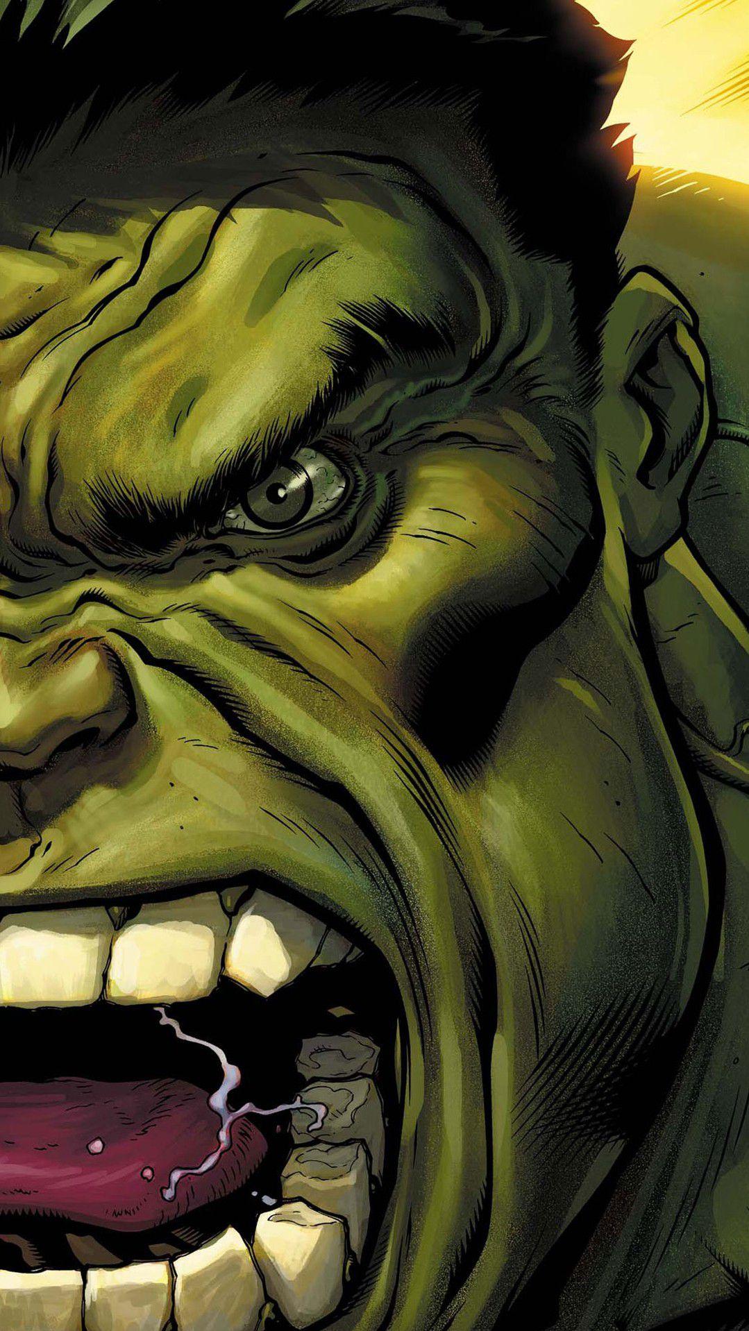 Avengers Angry Hulk iPhone Wallpaper