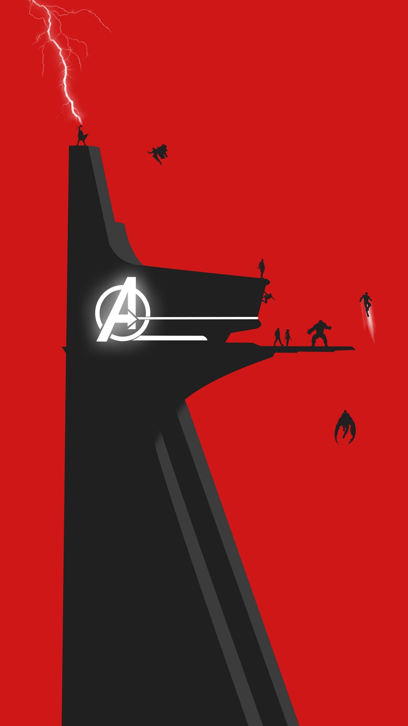 Avengers tower HD iPhone Wallpaper