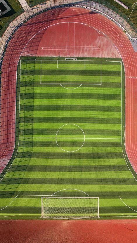 Football Ground iPhone Wallpaper