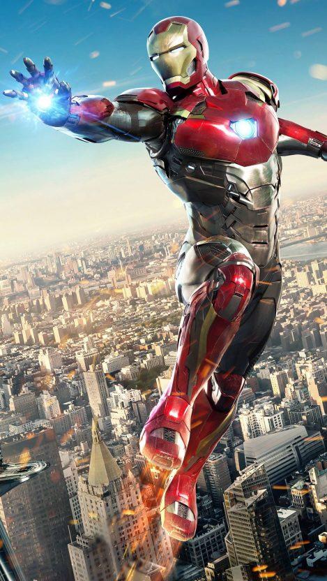 Iron man Superhero iPhone Wallpaper