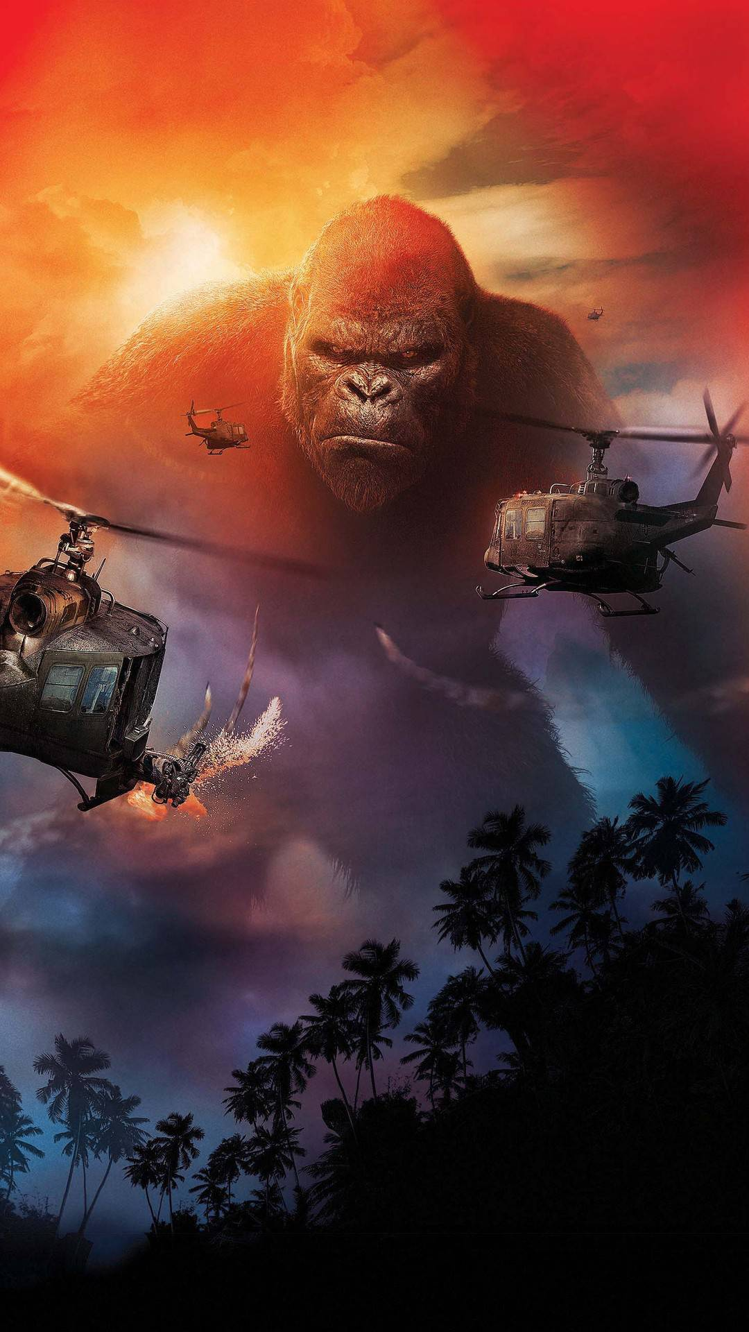 Kong skull island iPhone Wallpaper