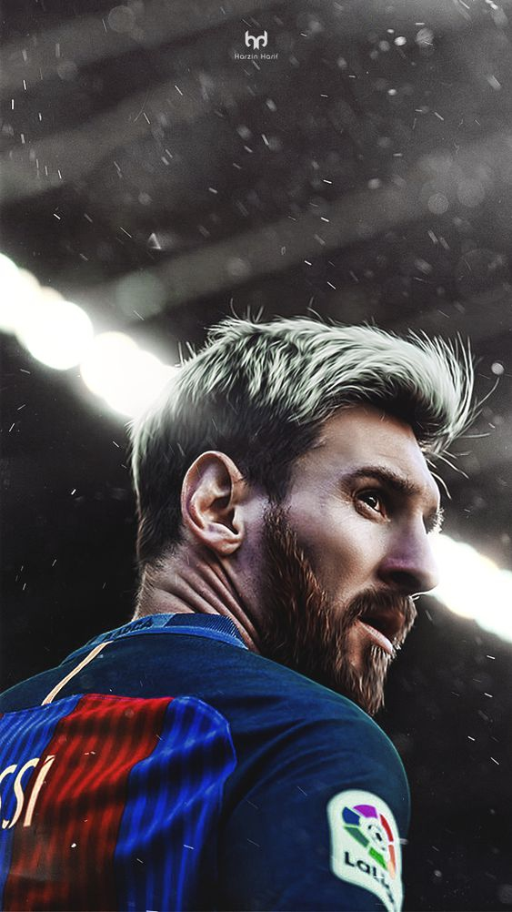 Lionel Messi HD iPhone Wallpaper
