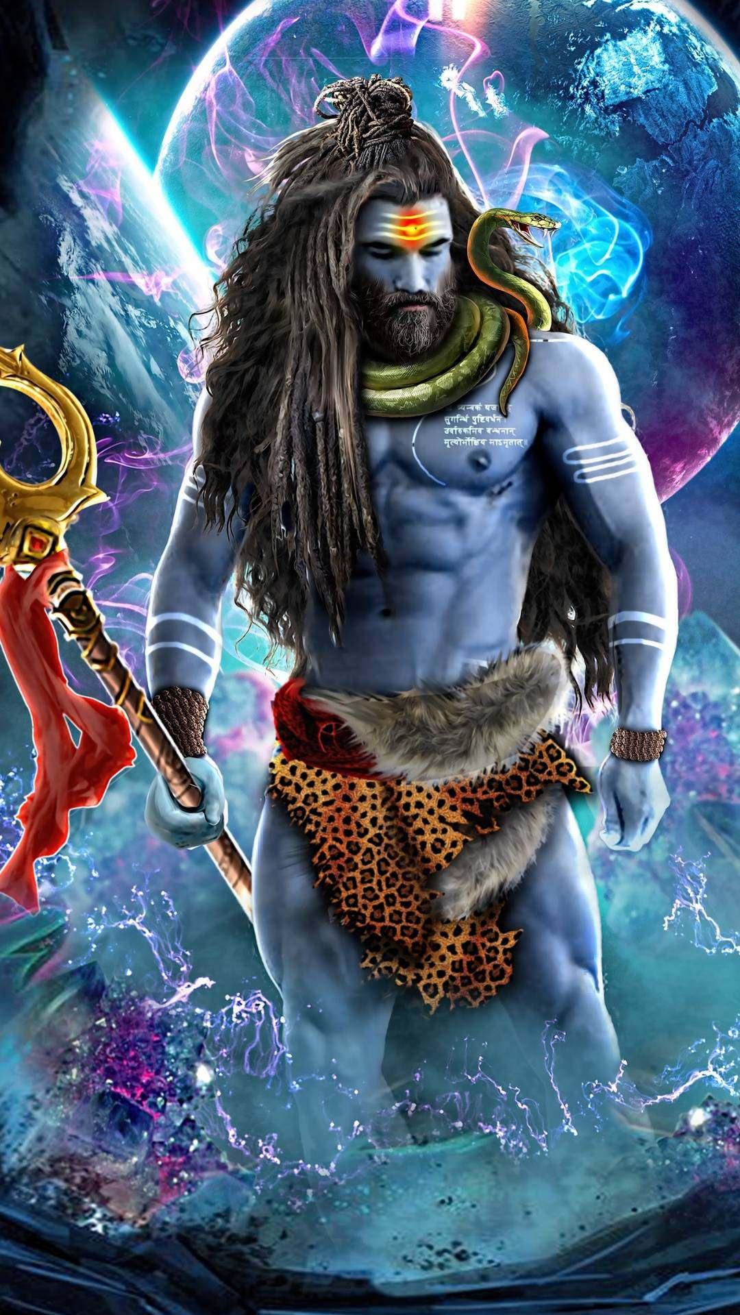 Lord Shiva Art iPhone Wallpaper  iPhone Wallpapers