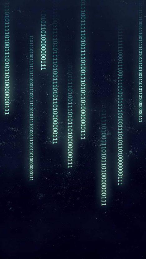 Matrix Code iPhone Wallpaper