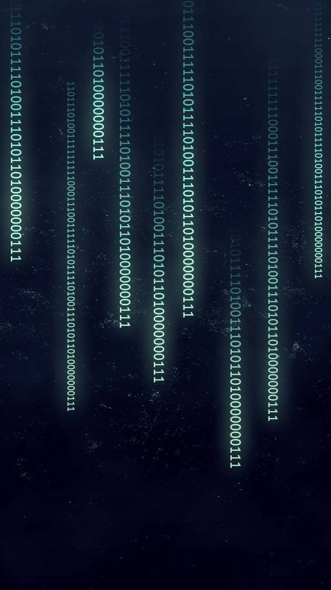 Matrix Code iPhone Wallpaper