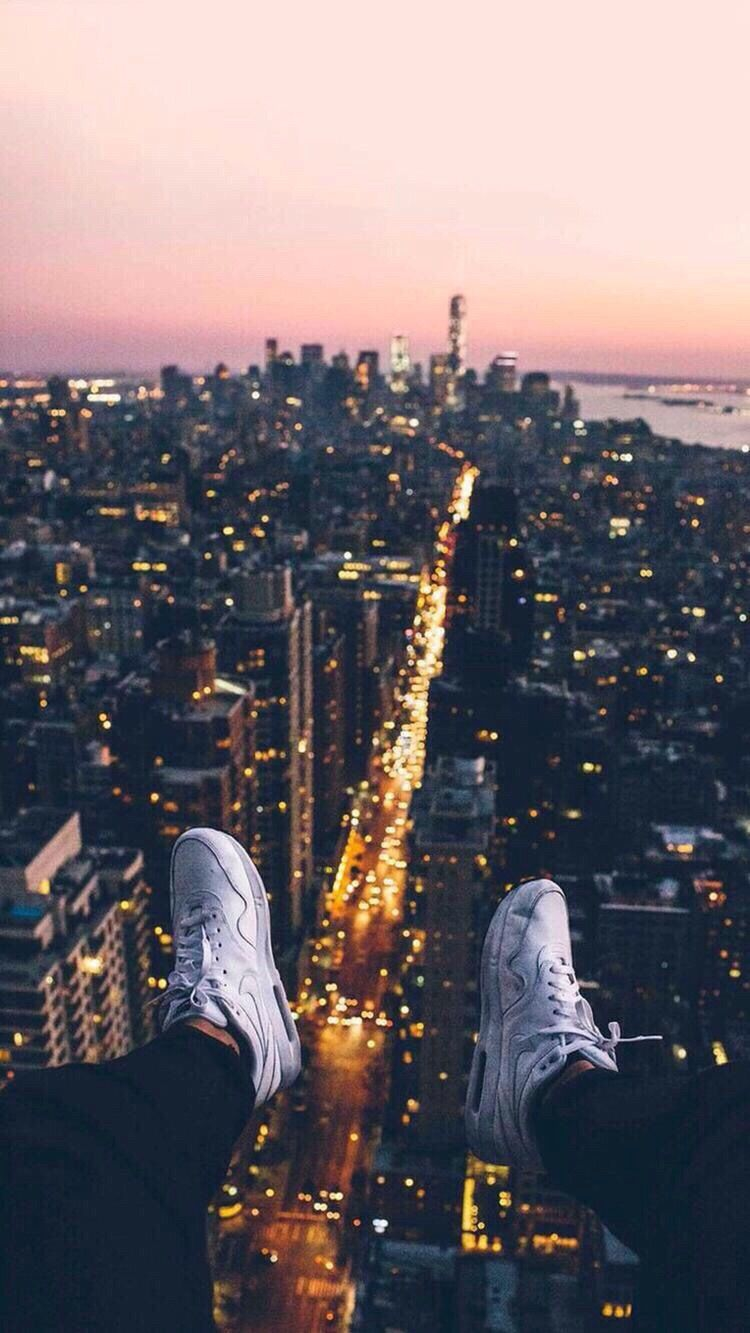 New York City View from Sky iPhone Wallpaper