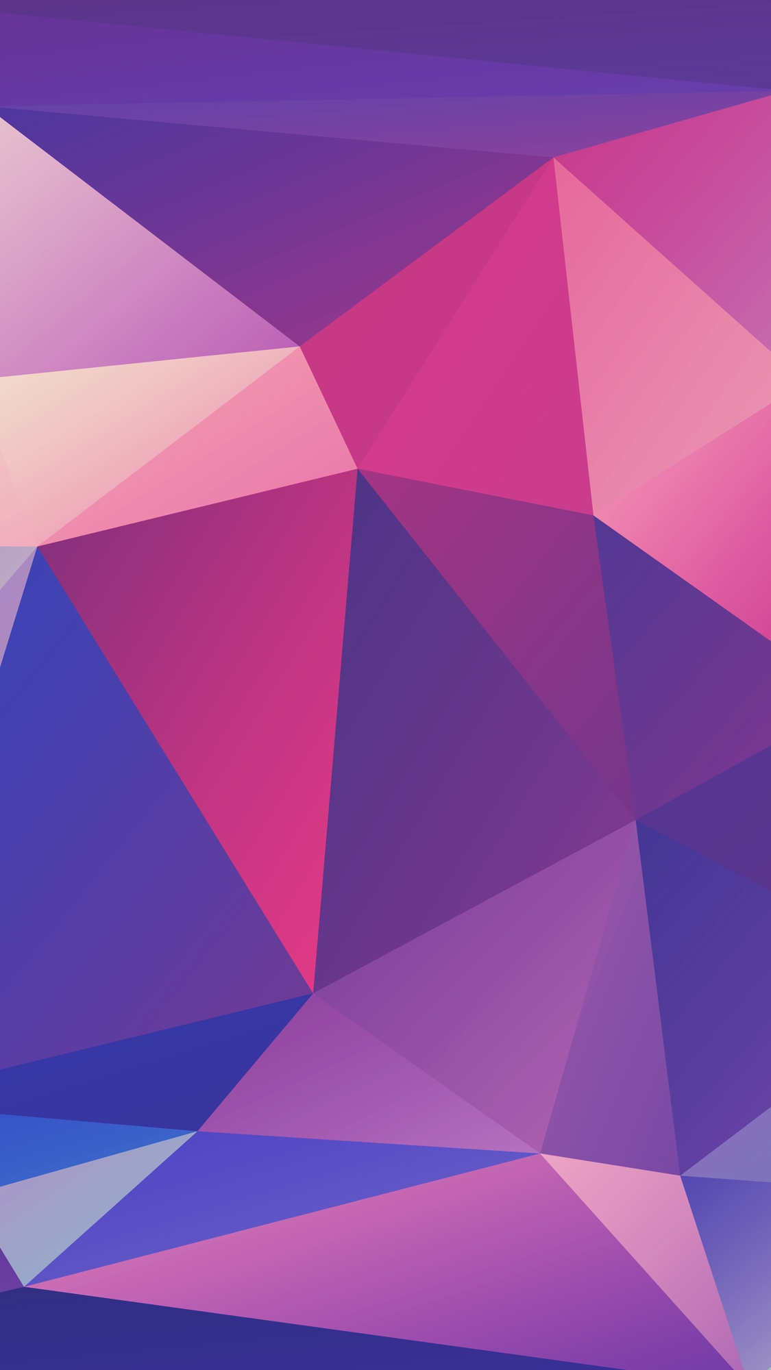 Purple low poly texture iPhone Wallpaper