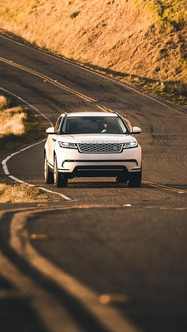 Range Rover Velar White iPhone Wallpaper
