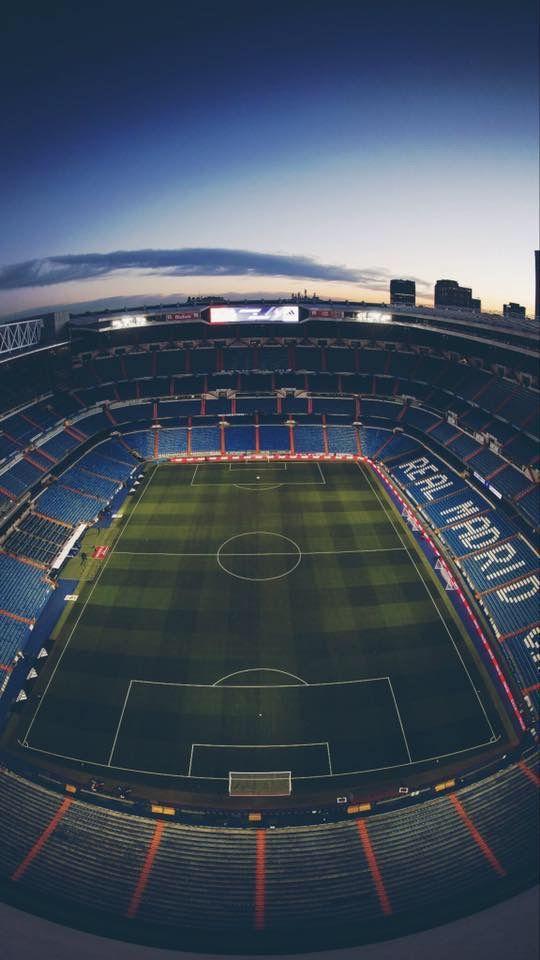 Real Madrid Stadium iPhone Wallpaper