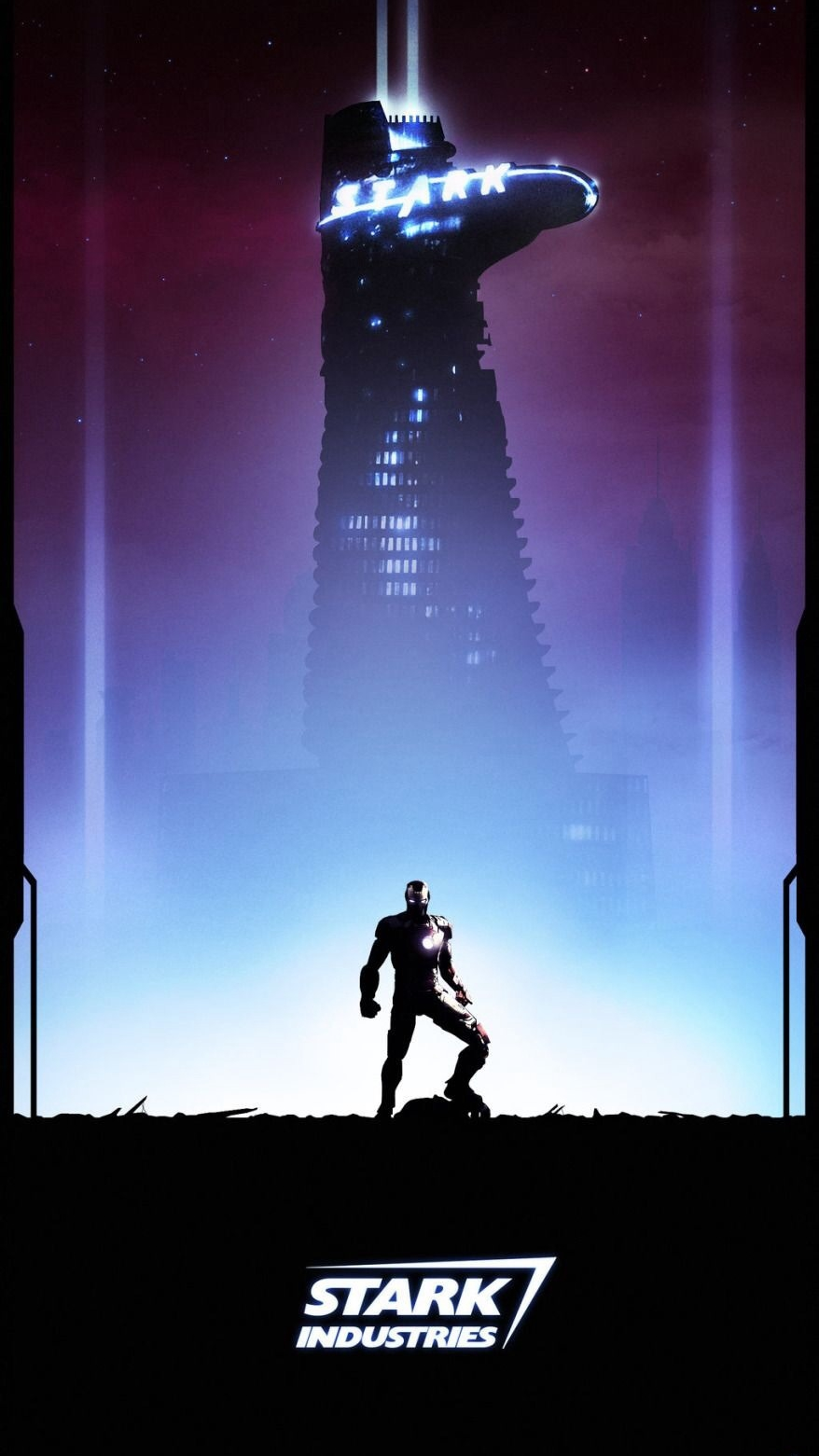 Stark Industries iPhone Wallpaper