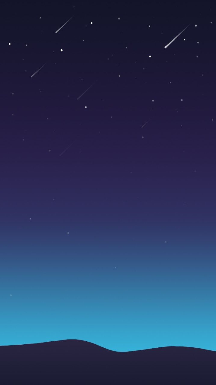 Stars Minimal Sky Night iPhone Wallpaper