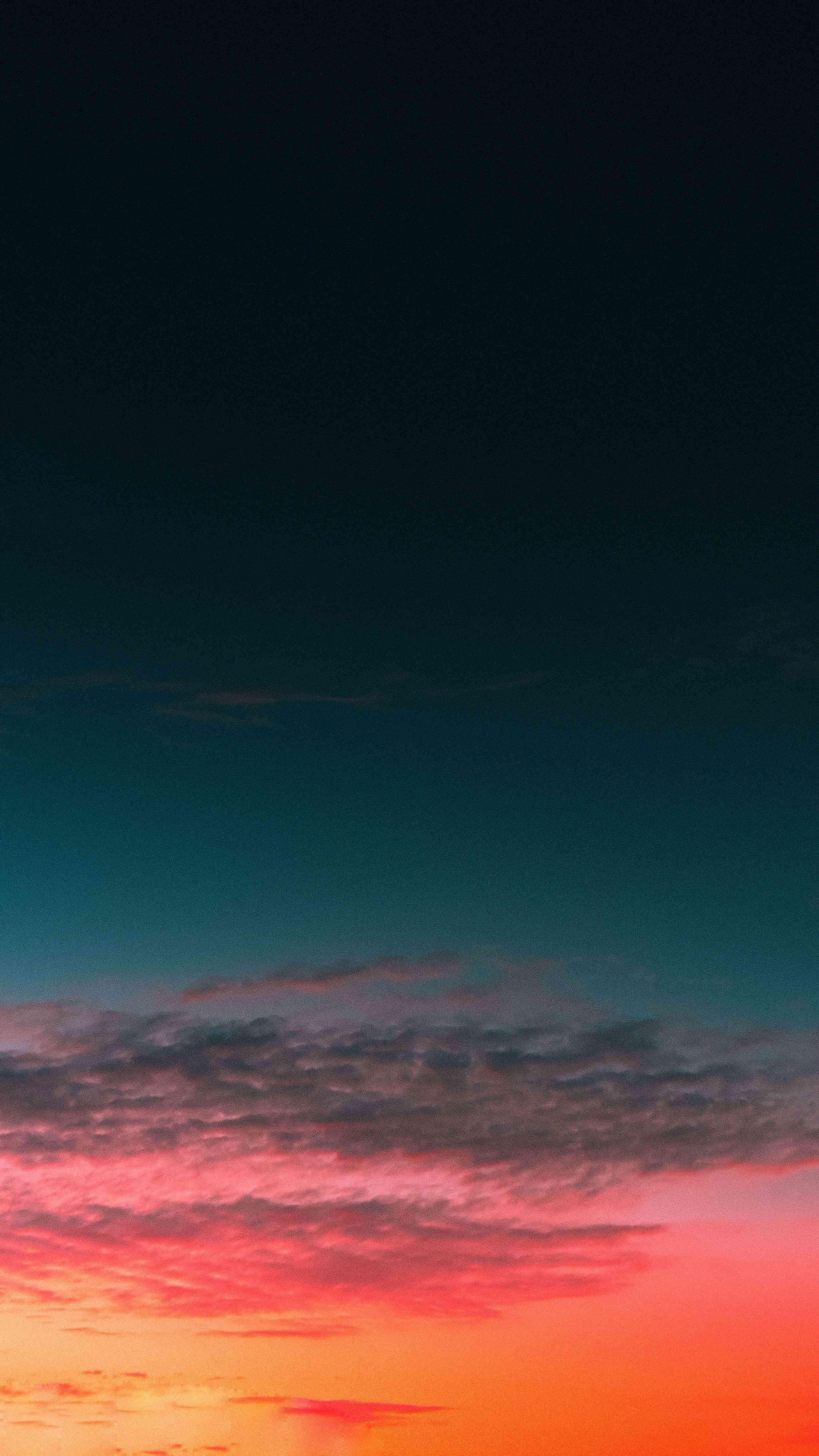 Sunset Sky Clouds iPhone Wallpaper