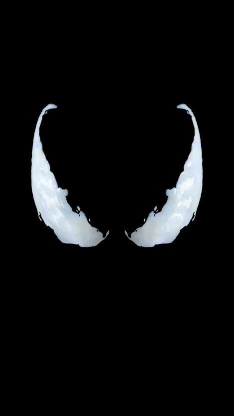 Venom Eyes iPhone Wallpaper