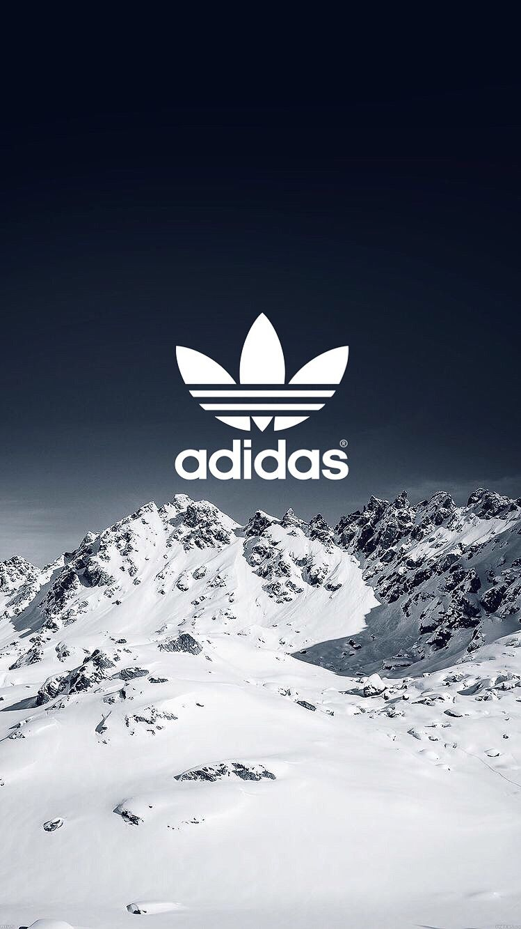 Winter Adidas iPhone Wallpaper