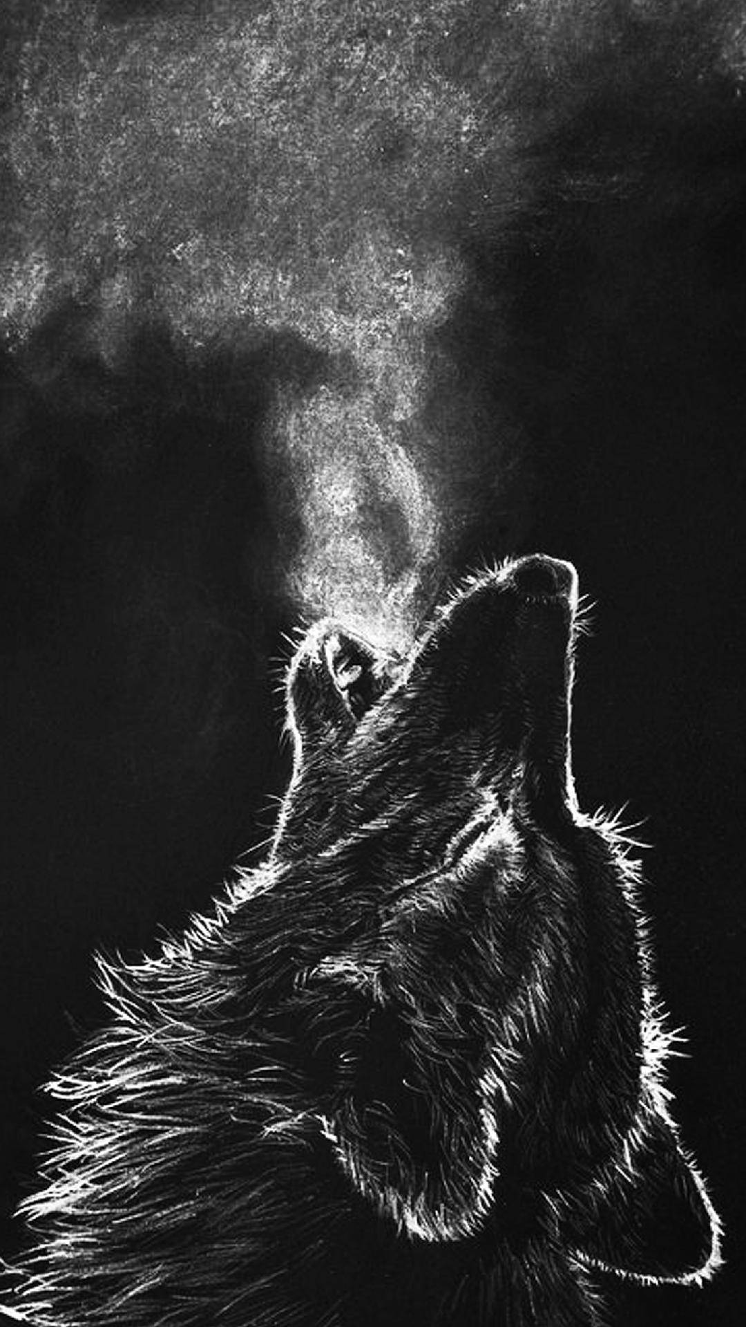 Wolf Howl Iphone Wallpaper Iphone Wallpapers