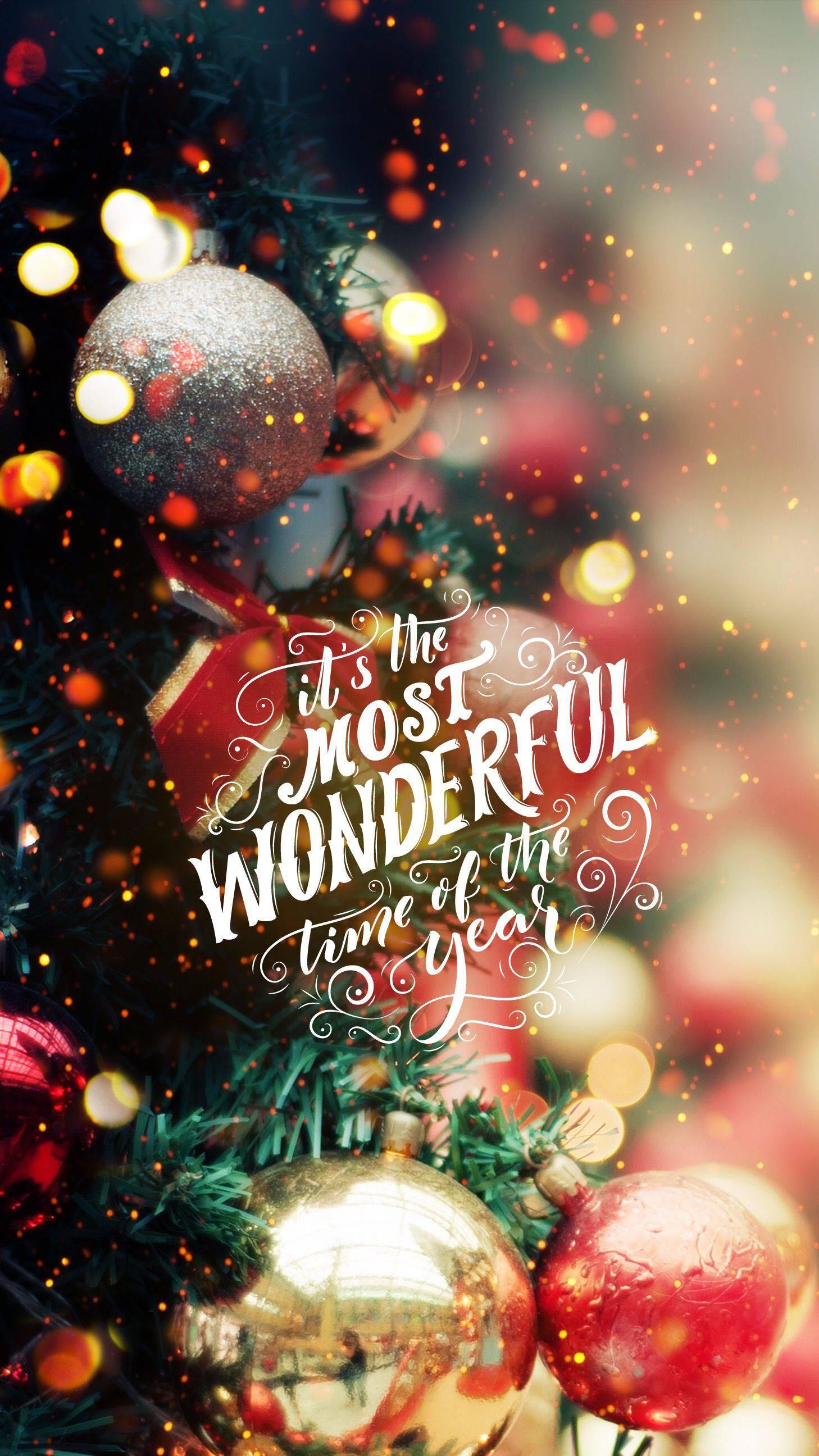 Wonderful Christmas iPhone Wallpaper