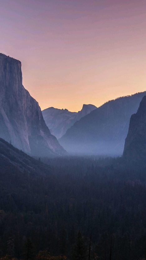 Yosemite National Park Morning iPhone Wallpaper
