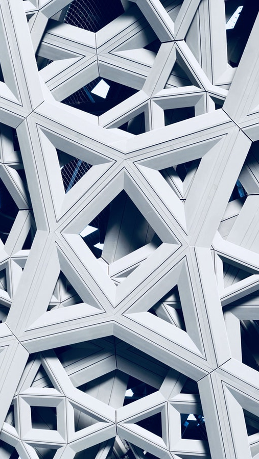 3D Architecture iPhone Wallpaper