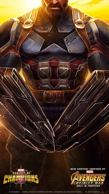 Captain America Avengers Poster iPhone Wallpaper