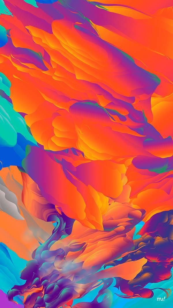 Colorful Art HD iPhone Wallpaper