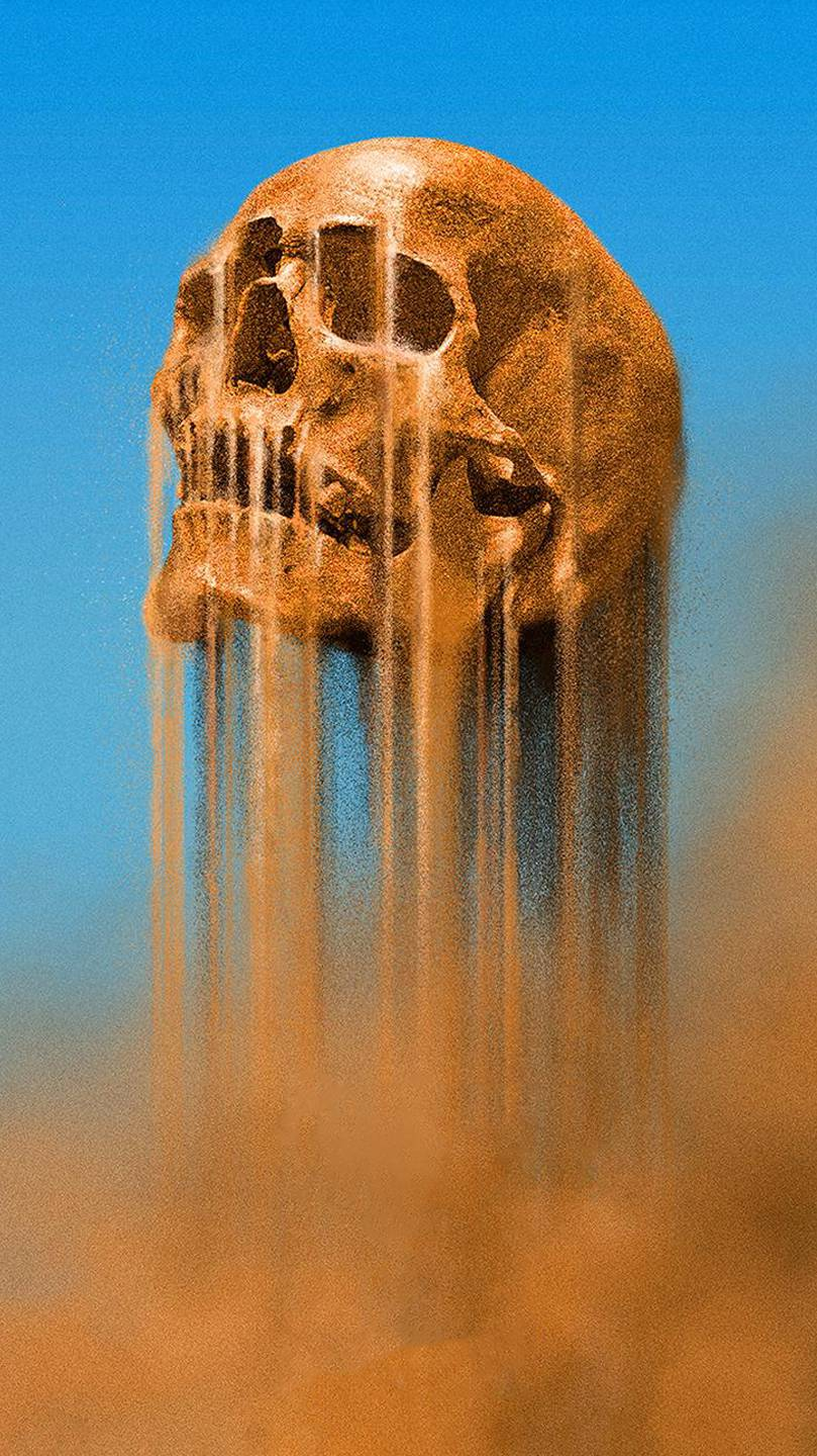 Mad Max Skull iPhone Wallpaper
