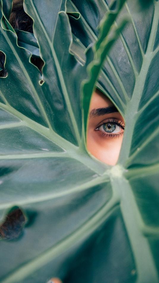 Nature Eye iPhone Wallpaper