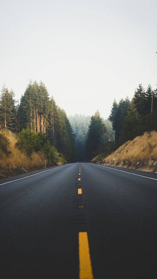 Oregon United States Road Nature iPhone Wallpaper