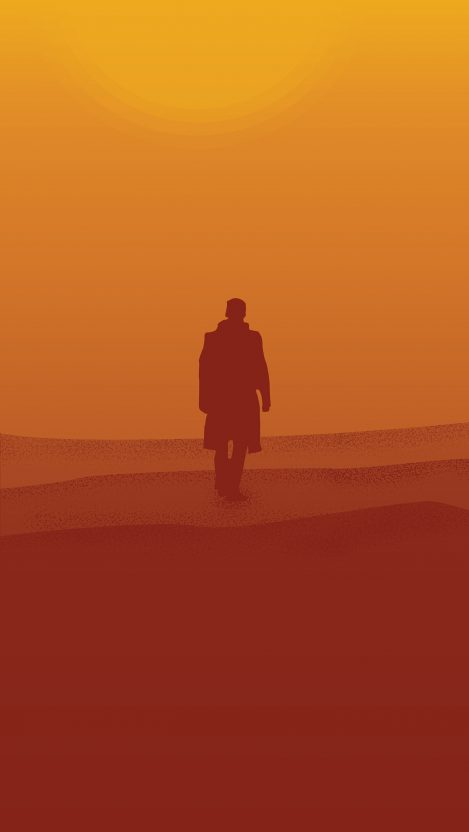 Blade Runner Minimal iPhone Wallpaper