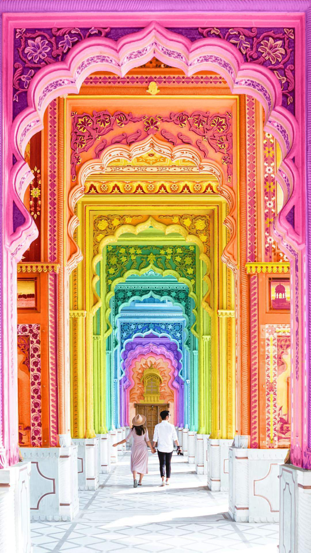 Colorful Historical Place Rajasthan iPhone Wallpaper