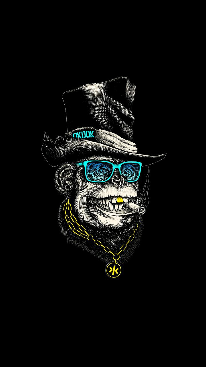 dope monkey hip hop iphone wallpaper