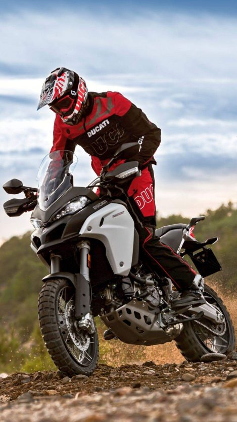 Ducati Multistrada 1200 Enduro iPhone Wallpaper