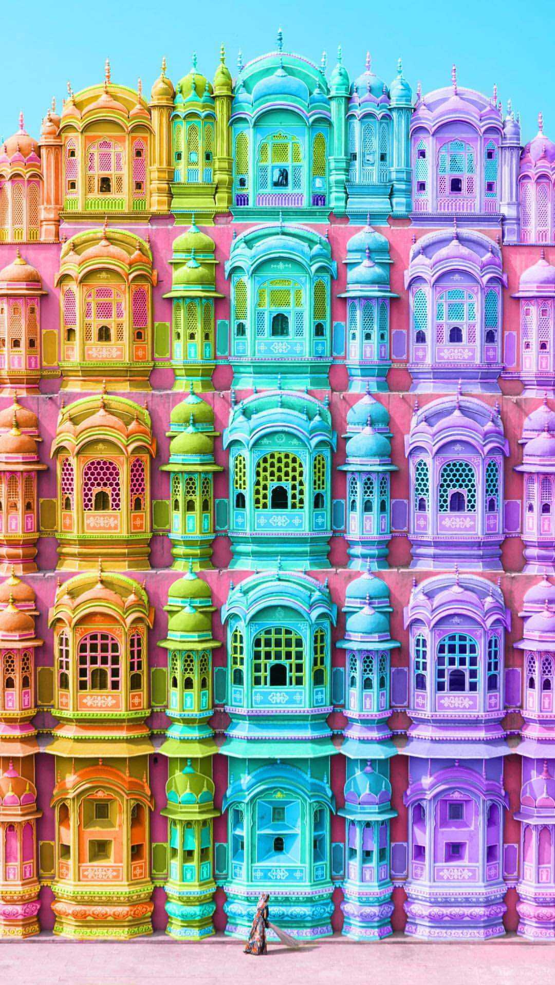 Hawa Mahal Jaipur iPhone Wallpaper