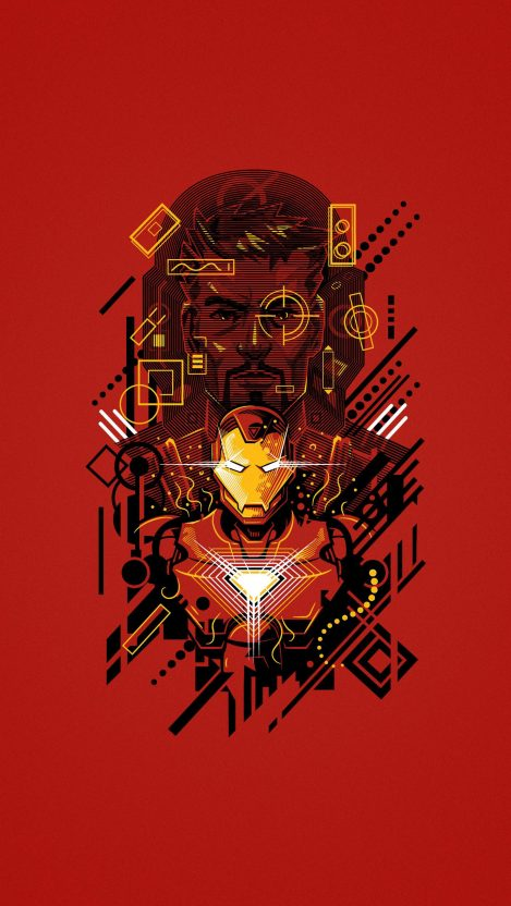 Iron Man Tony Stark iPhone Wallpaper