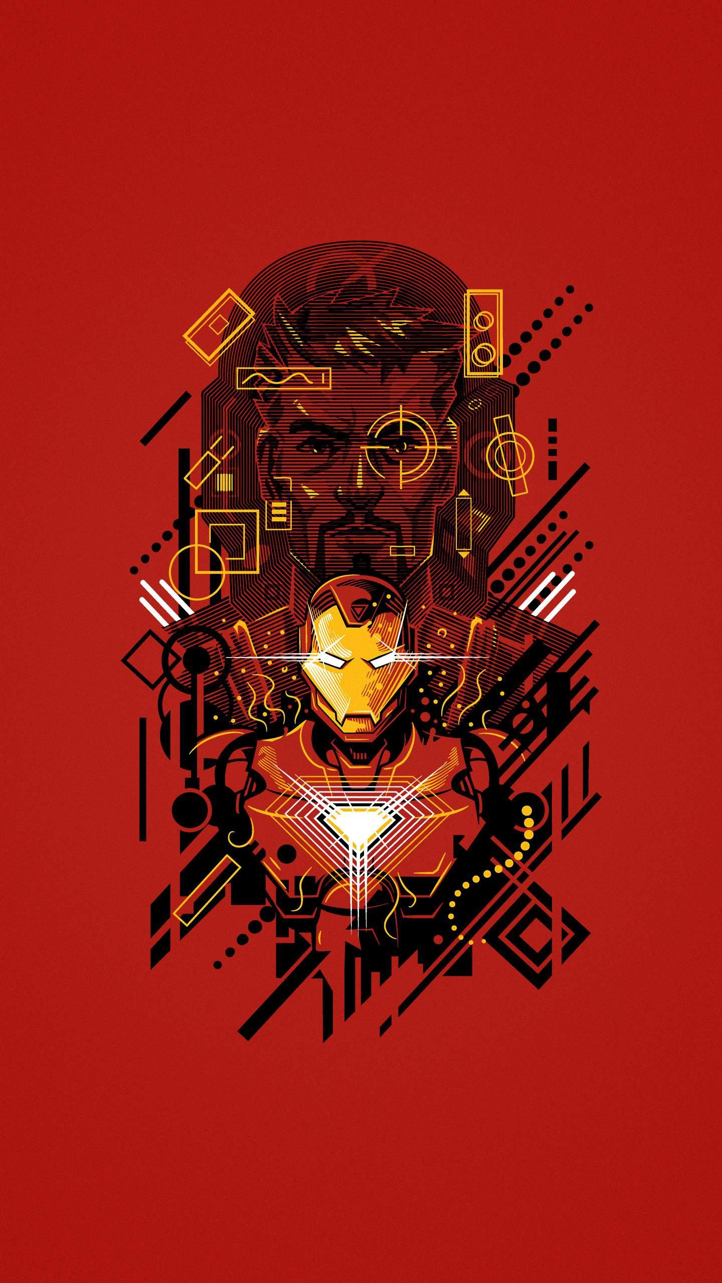 Iron Man Tony Stark iPhone Wallpaper