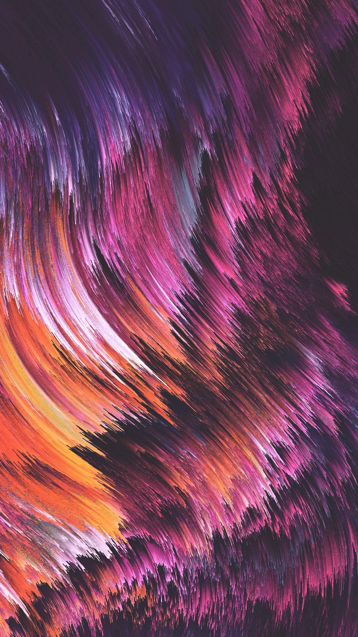 Pixel Sorting iPhone Wallpaper