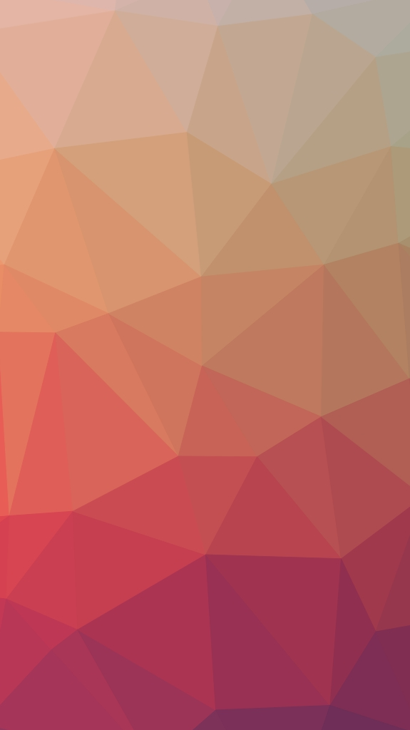 Polygon Background Red iPhone Wallpaper