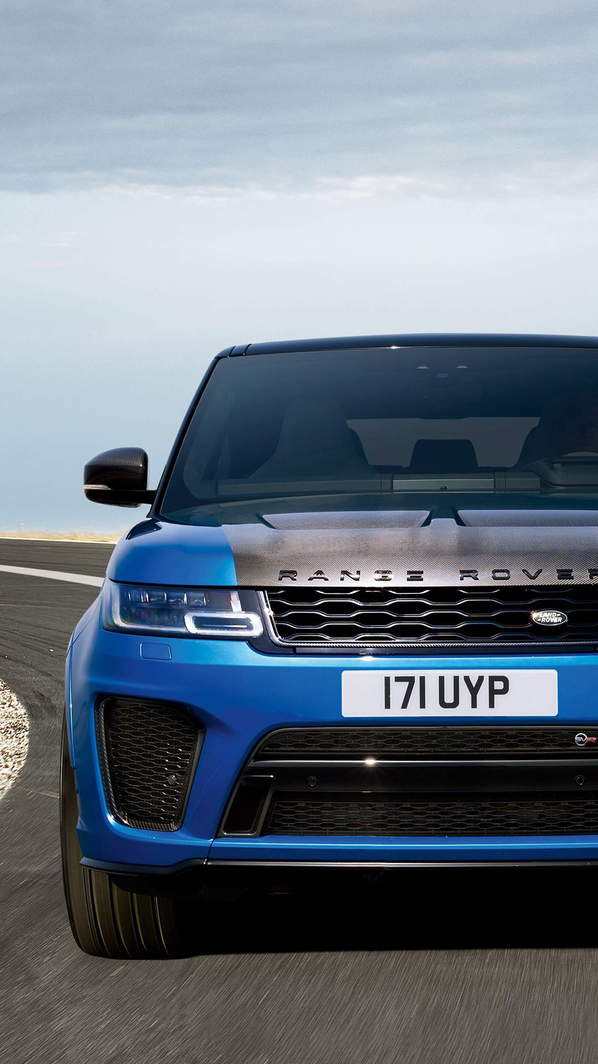 Range rover sport svr hd car iPhone Wallpaper