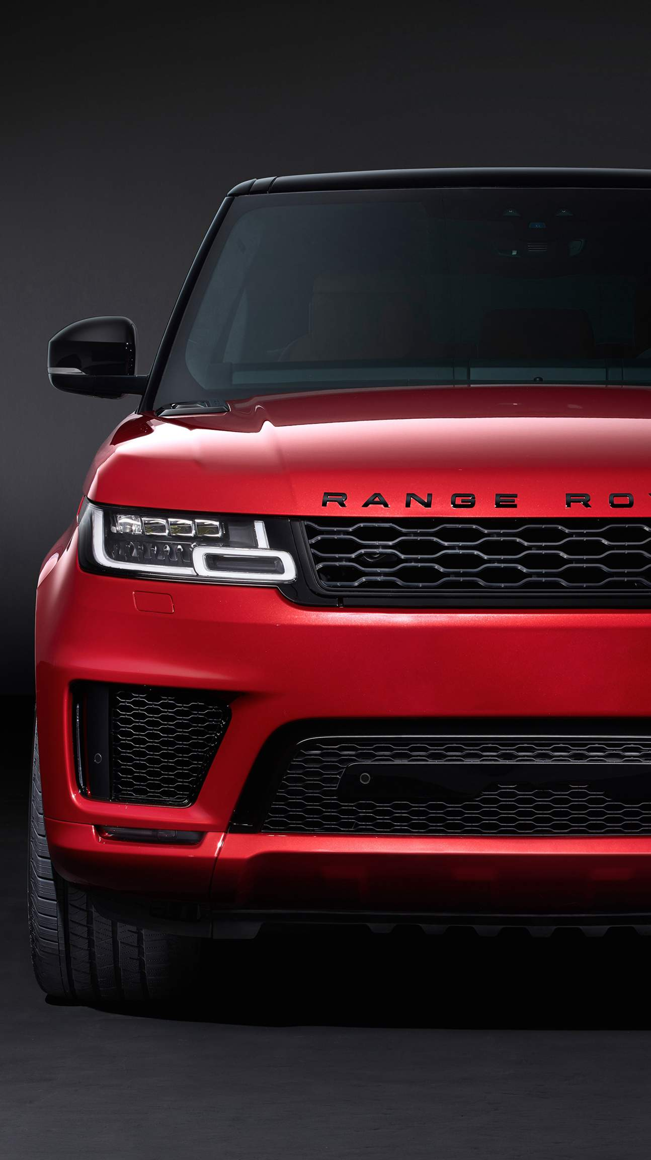 Red Range Rover Sport Autobiography Iphone Wallpaper