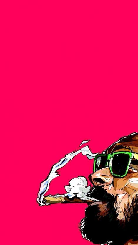 Snoop Dogg Dope iPhone Wallpaper