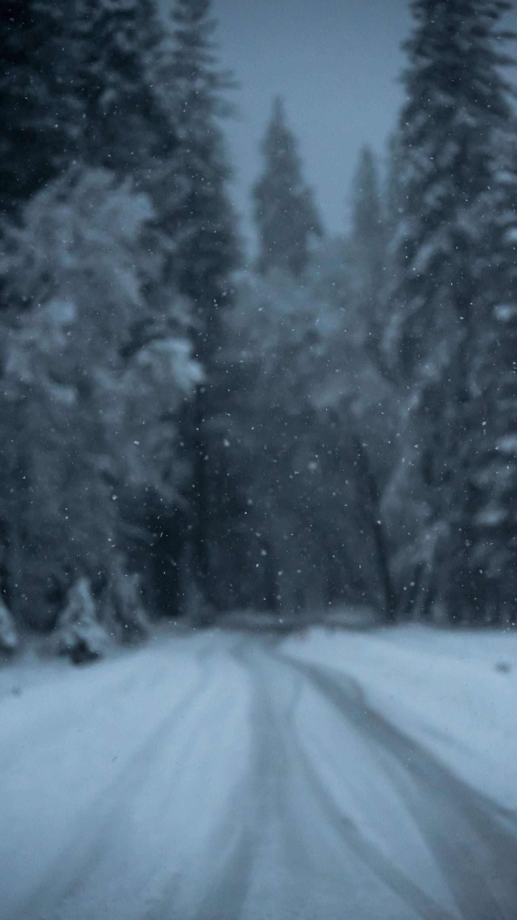 Snow Weather iPhone Wallpaper