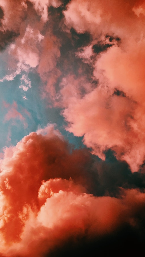 Sunset Clouds Sky iPhone Wallpaper