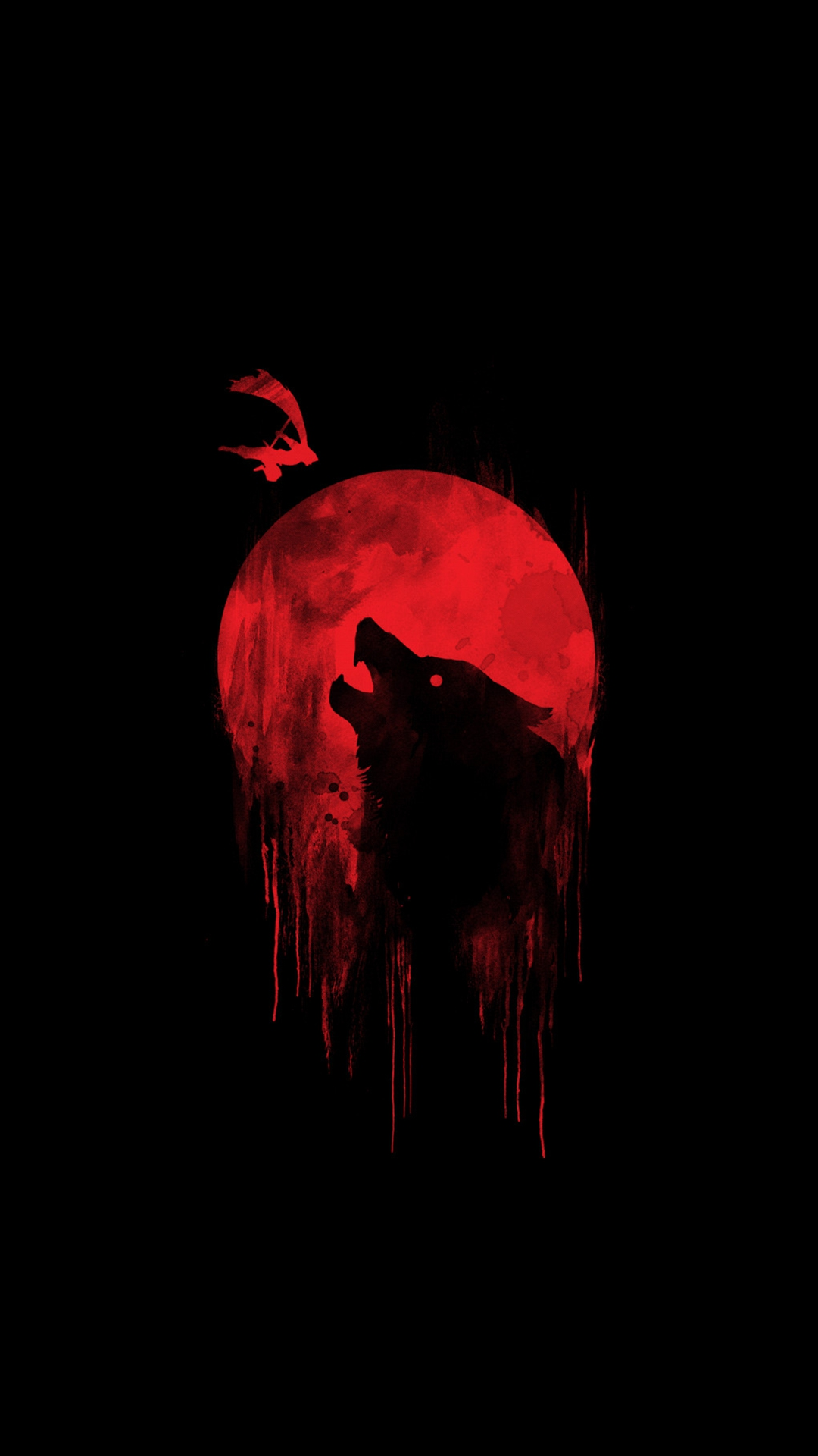 Blood Moon Wolf iPhone Wallpaper - iPhone Wallpapers ...