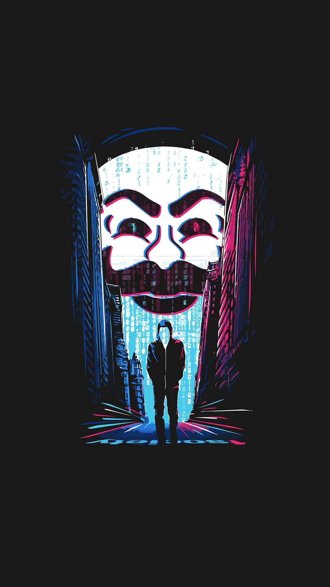 Darknet Hacker iPhone Wallpaper