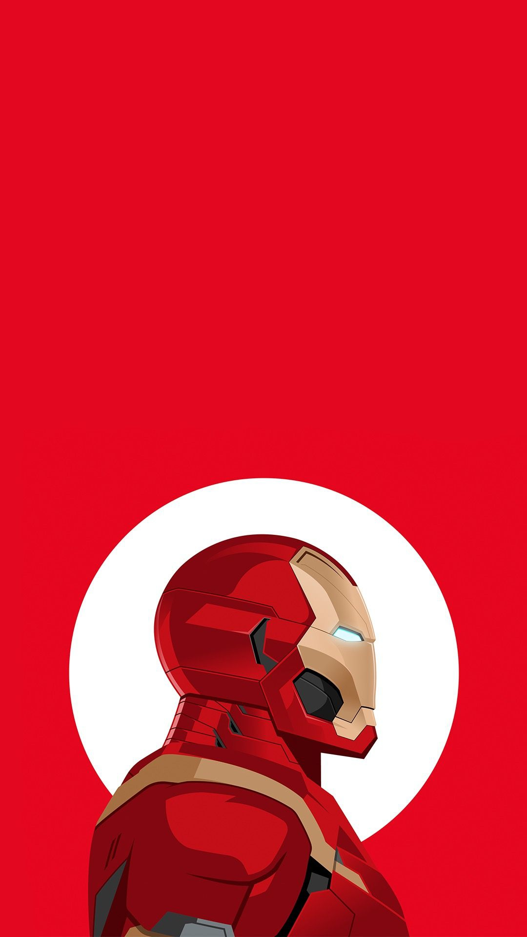 Iron Man Armour Red iPhone Wallpaper
