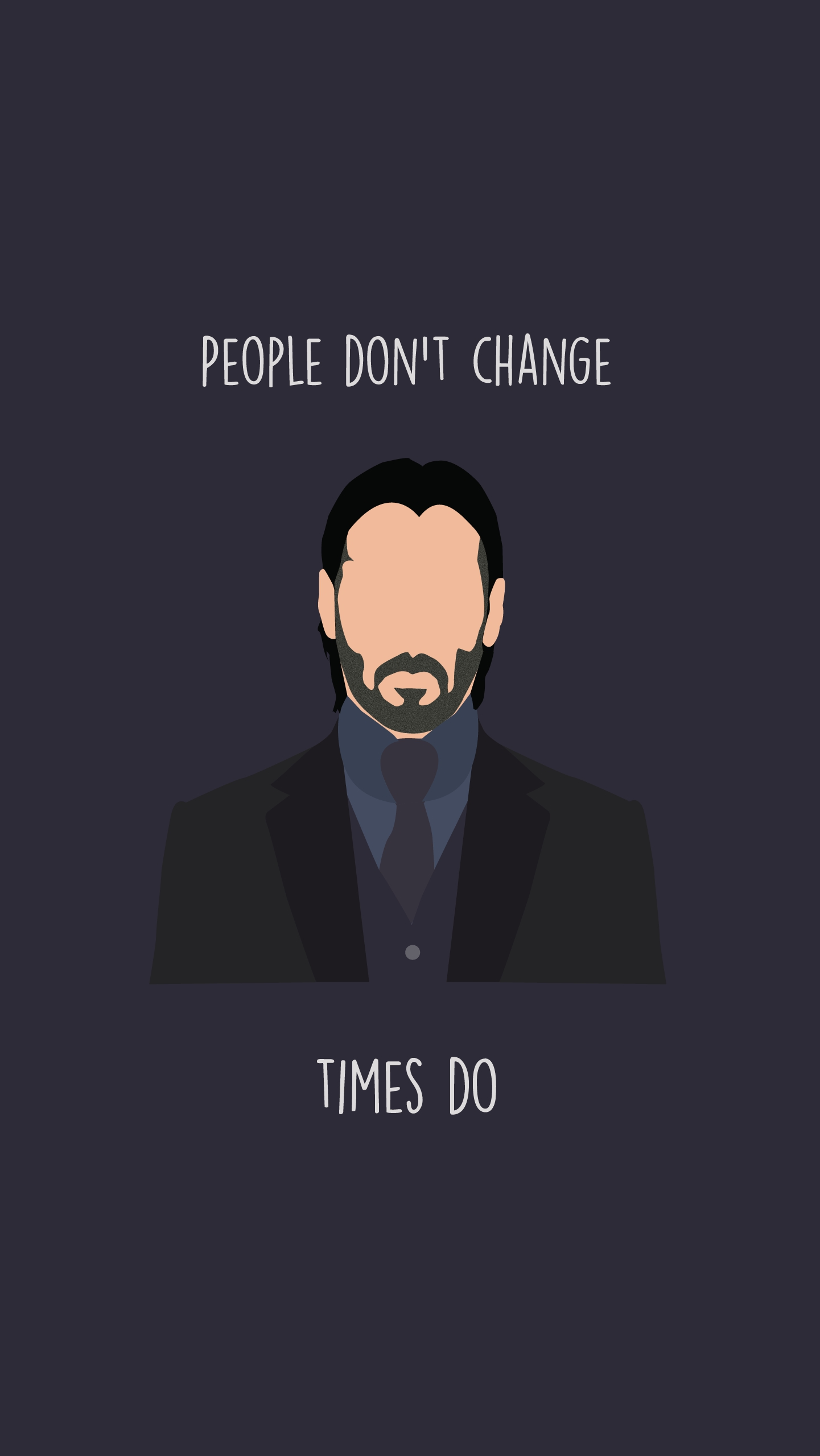 John Wick Quote iPhone Wallpaper