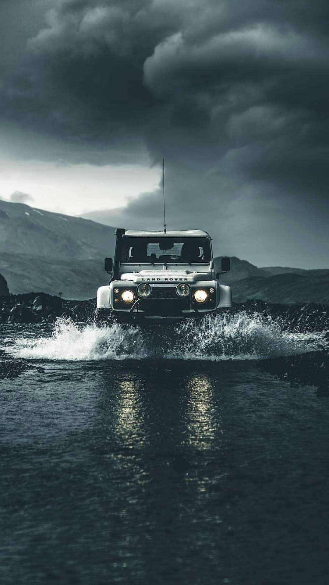 Land Rover Defender Off Road Iphone Wallpaper Iphone
